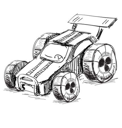 Race car Stock Vector - 18031119