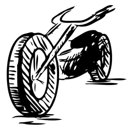 dirtbike: Motorcycle Illustration