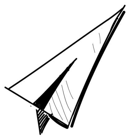 Paper plane icon Stock Vector - 18031086
