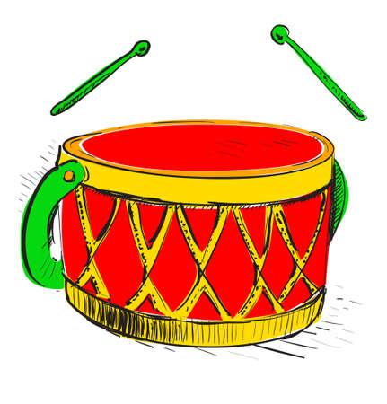 Music drum Stock Vector - 18269493
