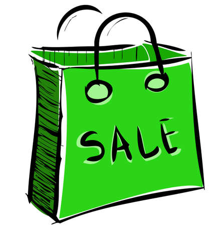 Sale bag icon
