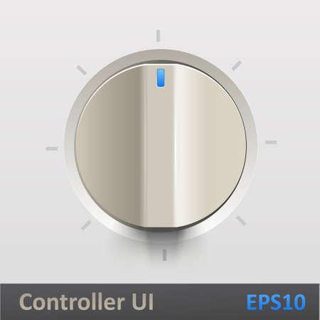 regulator: Control knob regulator  illustration