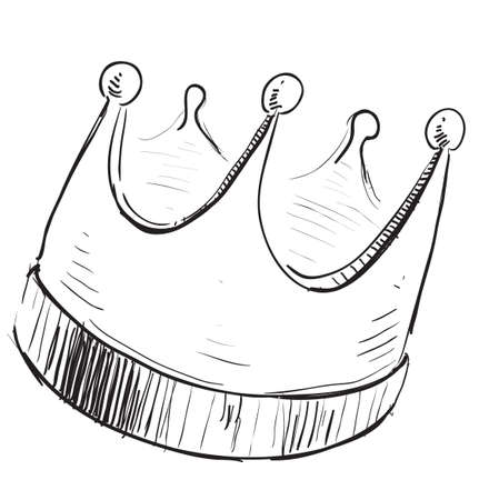 quick drawing: Simple crown icon