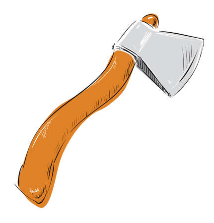 Ax hatchet icon Vector