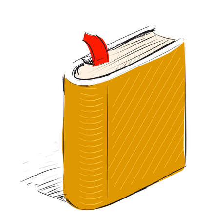 note book: Book, note book with bookmark