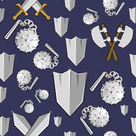 excalibur: Ancient weapon cartoon background