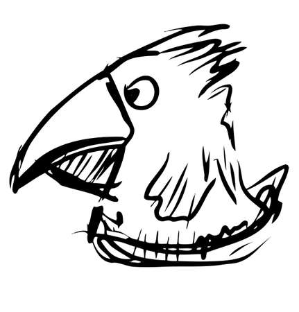 Bird with big beak