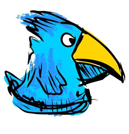 lowbrow: Uccello con grande becco