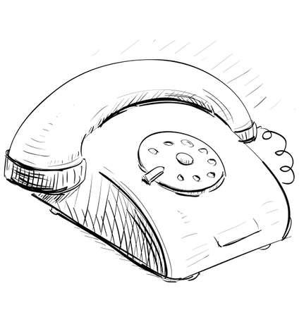 vintage telefoon: Vintage telefoon