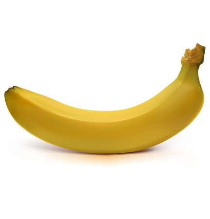 fruited: Banana Illustration