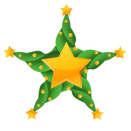 congradulations: Christmas glossy star
