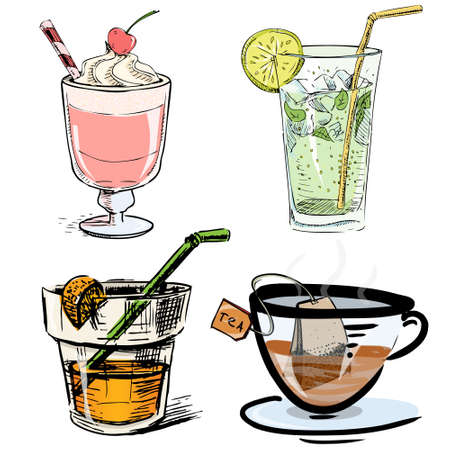 milk shake: Non alcoholic drinks collection