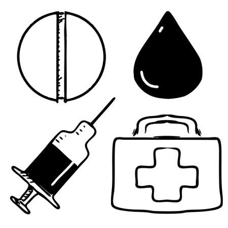 Medical icons set Stock Vector - 19898233