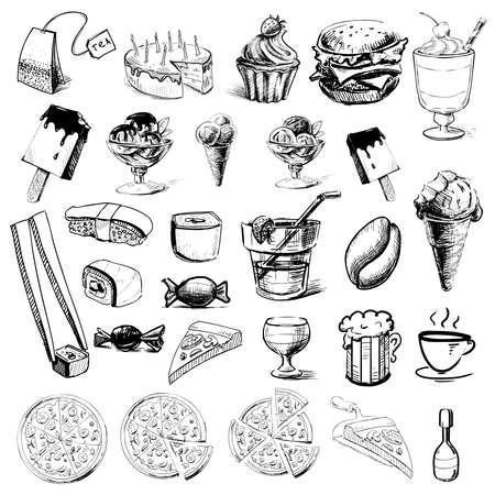 Hand drawing sketch  illustration