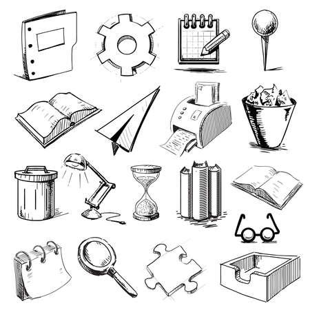Hand drawing sketch  illustration Stock Vector - 20628016