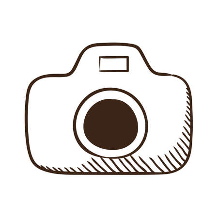 Isolated sketch icon pictogram. Vector