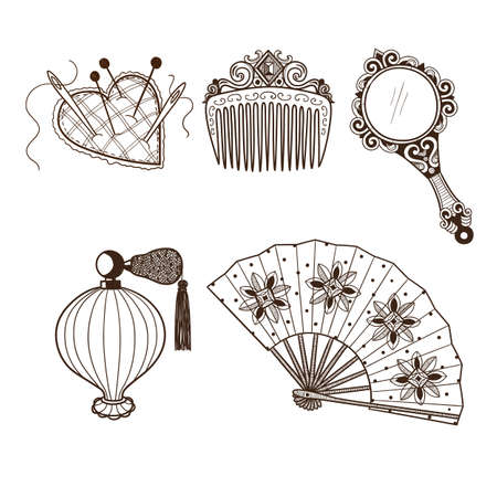 Hand drawn vintage style. Eps 10 vector illustration. Vector