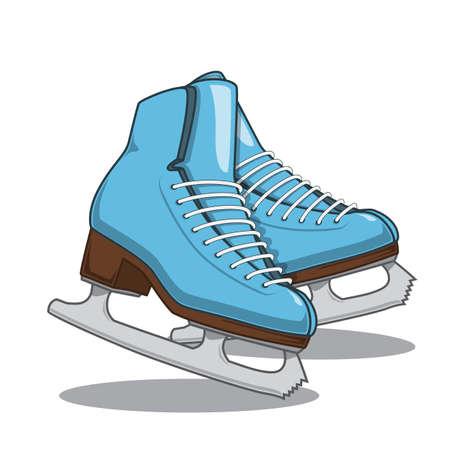 ice mountain: Skates.