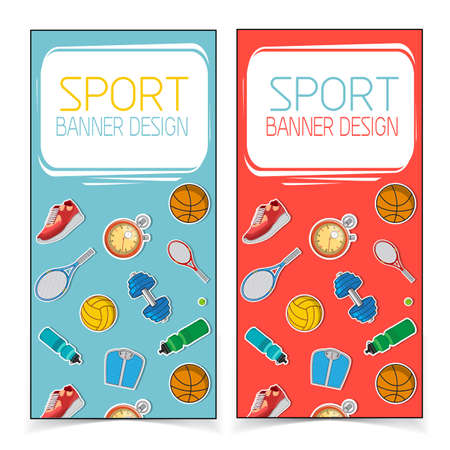active lifestyle: Active lifestyle banners.