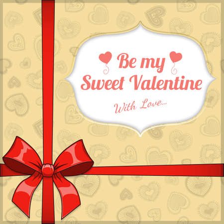saint: Saint Valentines  Day background. Illustration