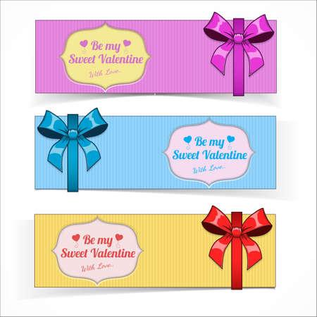 fourteen: Saint Valentines Day banners.