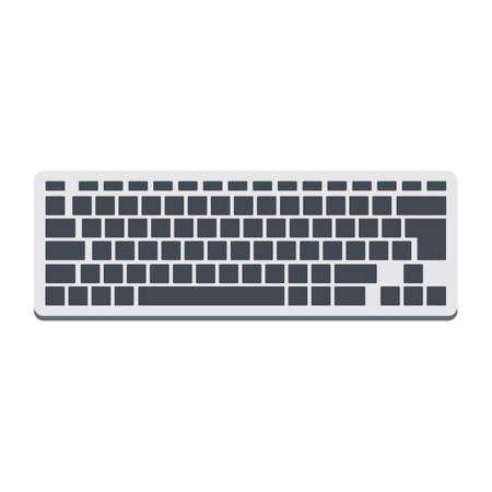 Keyboard. Vector