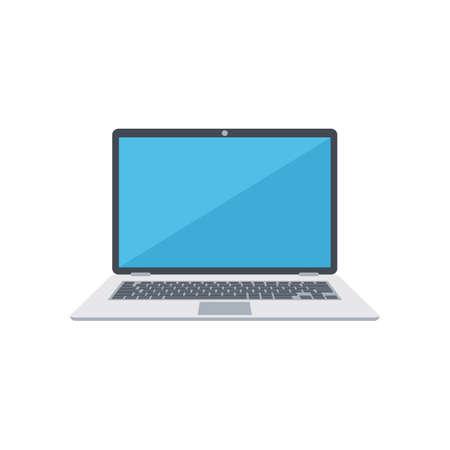 Laptop. Illustration