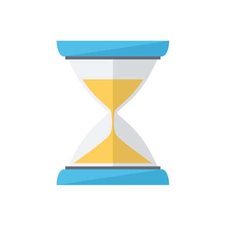 wait: Sand clock. Time wait symbol.