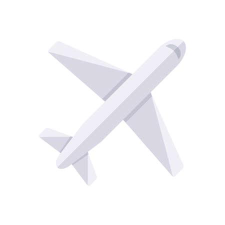 Airplane. Illustration