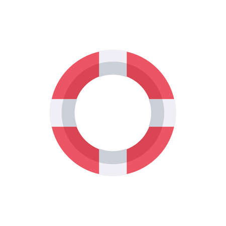help symbol: Lifebuoy. Support help symbol.