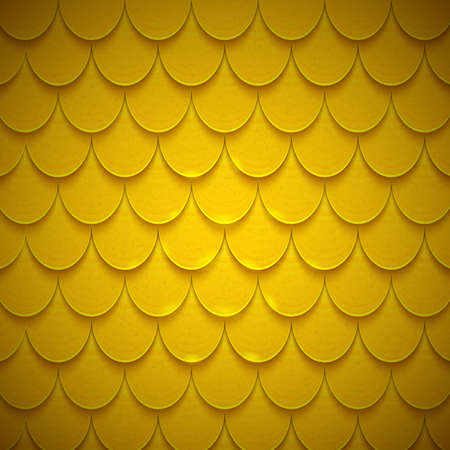 squama: Pattern of semicircles in squama style.