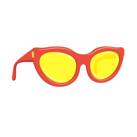 accessoire: Zonnebril zomer accessoire.