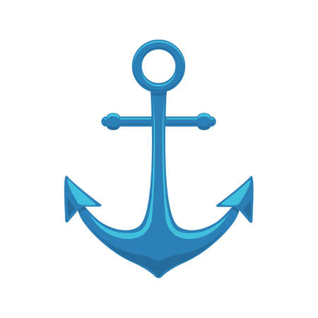 Sea anchor. Ilustrace