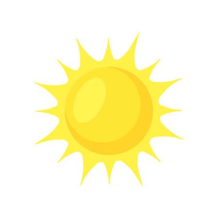 Soleil brillant. Vecteurs