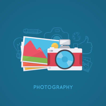 picture: Camera and pictures.
