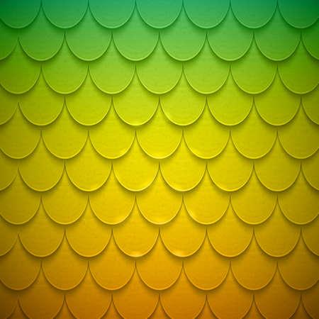 lagartija: Patr�n de semic�rculos en el estilo de escama. Vectores