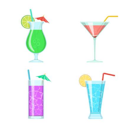 pina: Cocktail glasses.