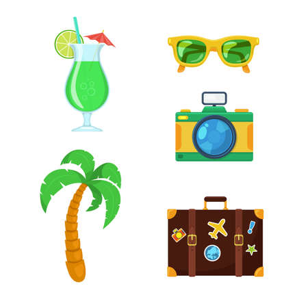 sunglasses recreation: Tourist travel collection.