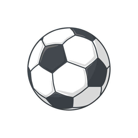 soccer ball: Isolated icon pictogram.