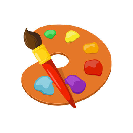 artist: Isolated icon pictogram.