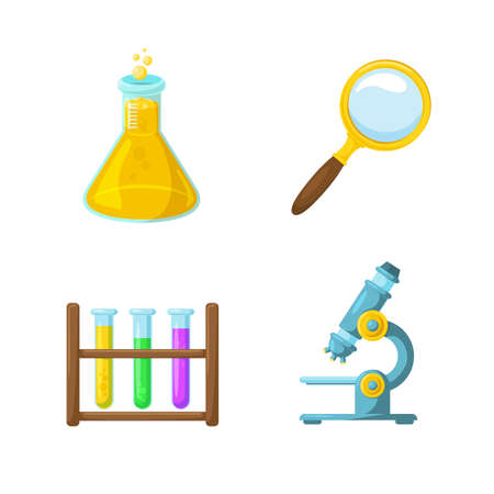 beginning school year: Studying and learning. School year beginning. Education design elements. Illustration