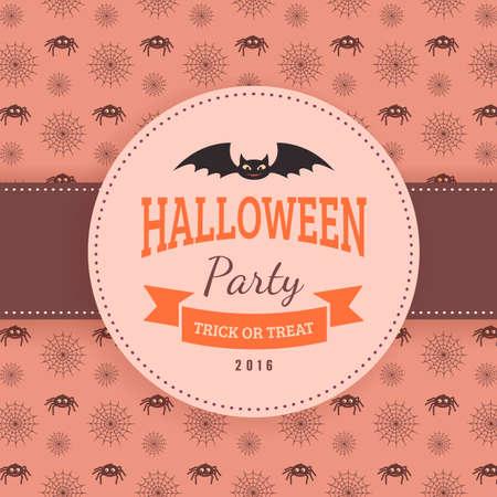lamia: Halloween party background design.
