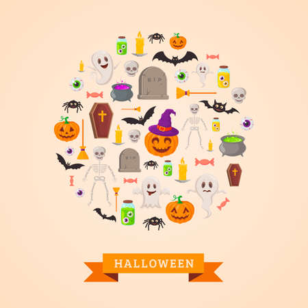 halloween party: Halloween party background design