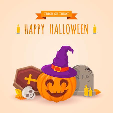 helloween: Halloween party background design