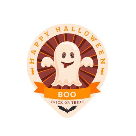 halloween party: Halloween party badge design