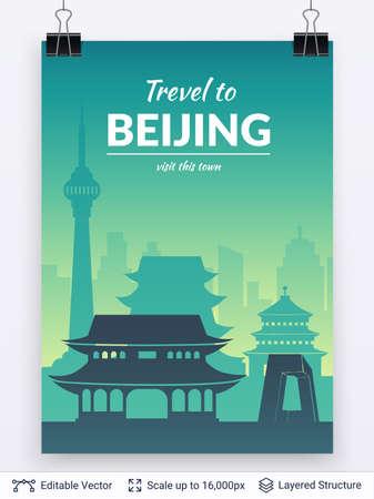 Famous city poster.
