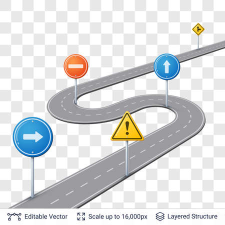 Map street plan backdrop and navigation elements. Illustration