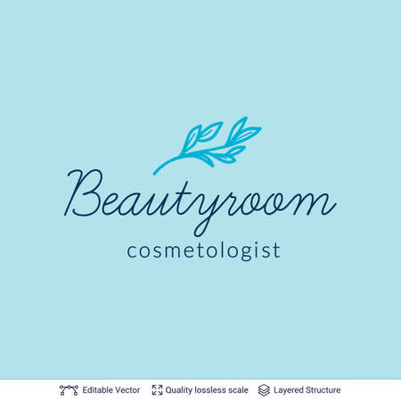 Beauty room or salon cosmetologist  design.
