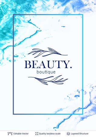 Beauty SPA care salon cosmetologist   design.