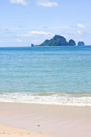 aonang: Island seen from aonang